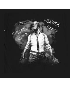 Sieger-Sieger-Huhn-Abendessen-Hemd, PUBG T-sHIRT, Playerunknown's Battlegrounds