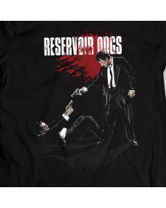 Reservoir Dogs - Buscemi / Keitel - Standoff - T-Shirt Quentin Tarantino 100% Baumwolle